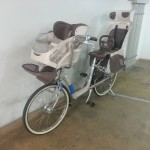 幼児二人同乗用自転車