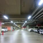 瓦町駅地下駐車場場内