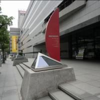 美術館地下駐車場